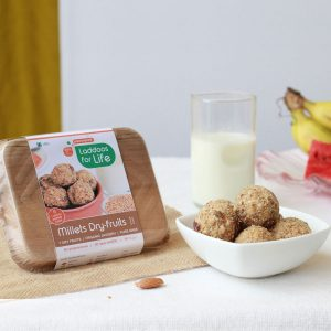 power packed millets dry fruit Laddoos